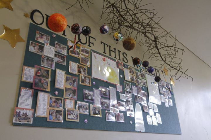"Display of documentation demonstrating progressive learning & development - image shared by International Child Care College ("",)"