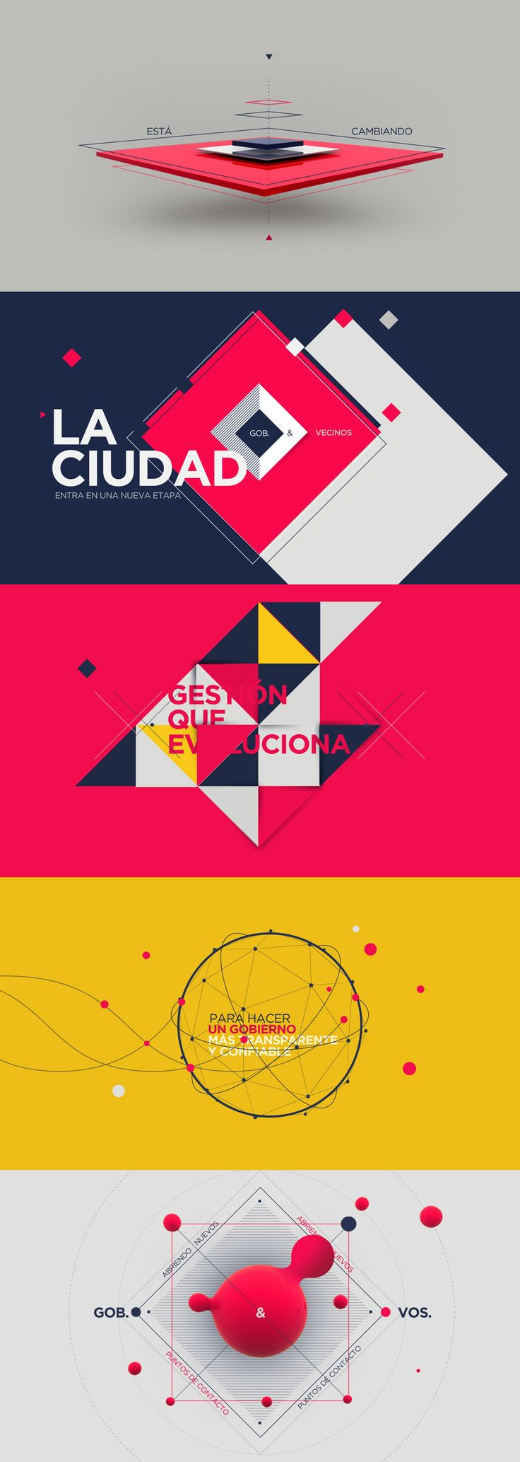 Color / Layout / Framing / Graphics /// Gobierno Abierto - Carla Dasso