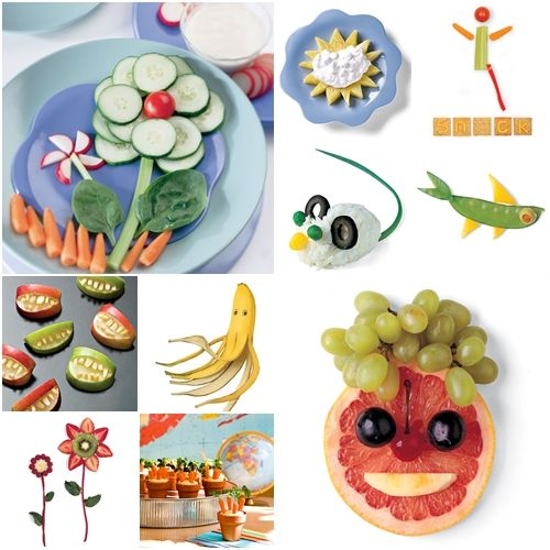 Recetas infantiles para comer sano y diver