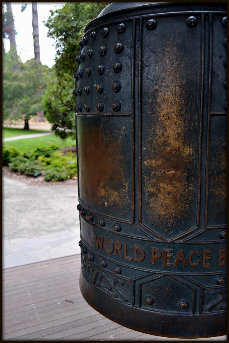 Peace bell in Hagley Park