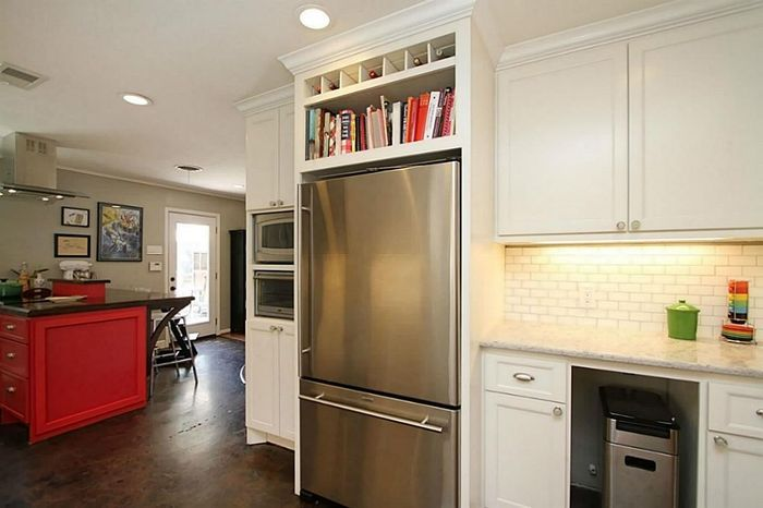 будет как сделать кухонный шкаф над холодильником фото свои