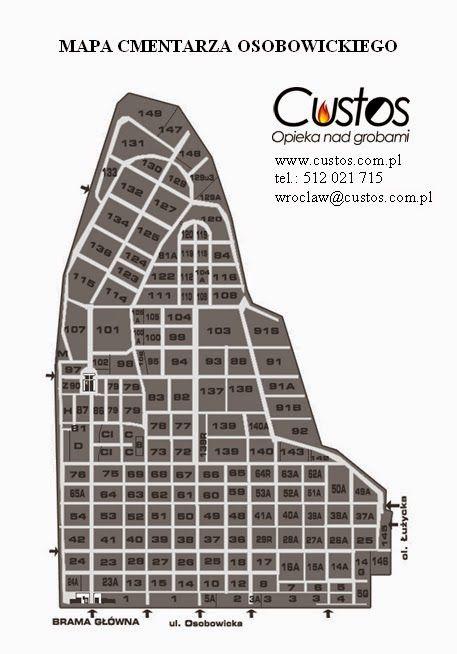 Custos Wrocław - Sprzątanie Grobów: Historia cmentarza Osobowickiego
