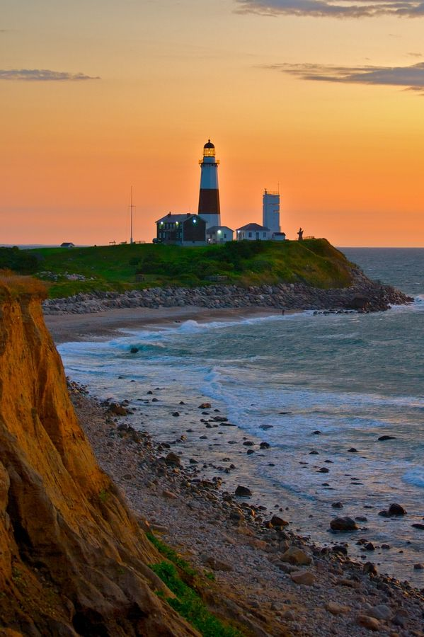 Montauk Lighthouse - Long Island, New York, USA. Jackie and her cousin just came back from Montauk last night.
