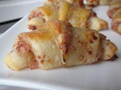 CROISSANTS LARDONS/OIGNONS - C secrets gourmands!! Blog de cuisine, recettes faciles, à préparer à l'avance, ...