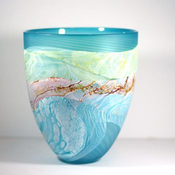 Seashore by name and by character - Thomas Petit's glass always gets admired at the WOW Gallery - this one is  £200 but its large!