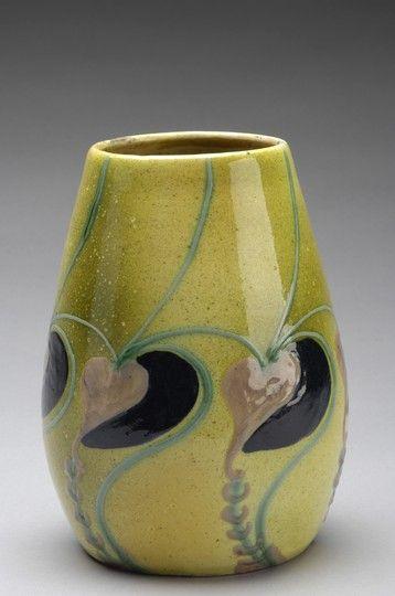 Swedish Art Nouveau Vase, Uppsala-Ekeby, 1910s