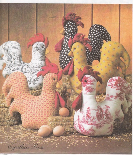 McCall's Crafts Stuffed Rooster Pattern Uncut Brand New   eBay