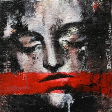 "Saatchi Art Artist Donatella Marraoni; Painting, ""Silence"" #art"