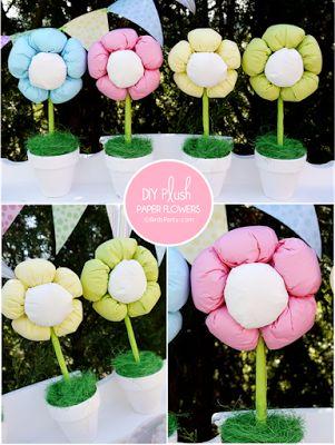 Pretty Party Ideas: DIY χάρτινα λουλούδια για διακόσμηση!
