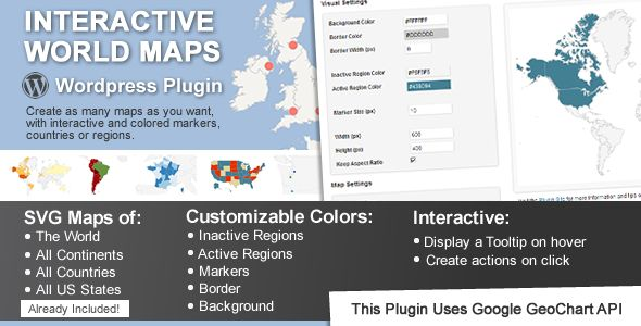 Interactive World Maps - CodeCanyon Item for Sale Ook Nederlandse kaart!