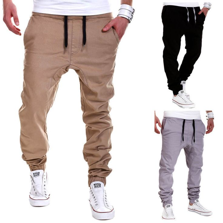 Details about Mens Trousers Sweatpants Harem Pants Slacks Casual Jogger Dance Sportwear Baggy