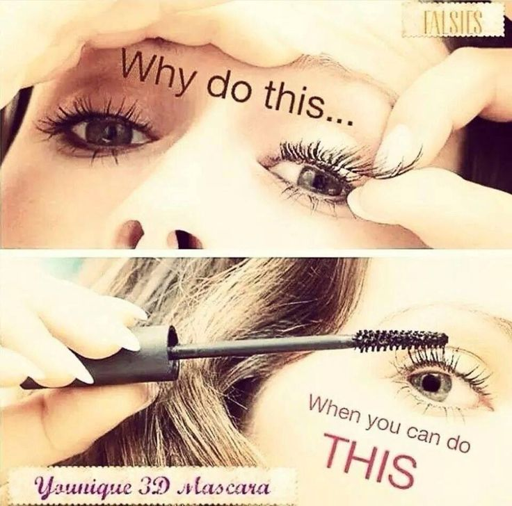 Say NO to false eyelashes and YES to 3D Mascara by Younique - Shop online at Fabulashers Cosmetics - www.fabulashers.com