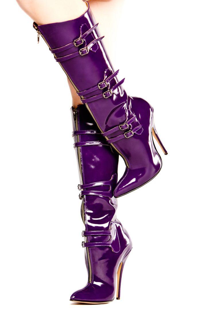 best 25 purple boots ideas on