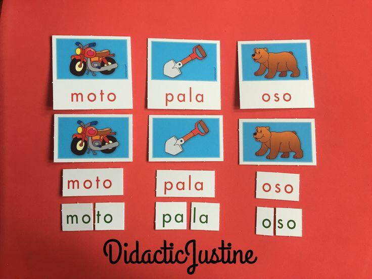 Juego de Lectura Inicial Para trabajar el inicio de la lecto escritura, con la conciencia fonológica. Con este juego reforzará el aprendizaje de la lectura usando las letras del abecedario.