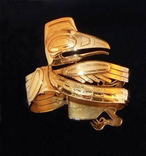 Bill Reid Raven Bracelet 1955 Friedman Collection, Museum of Anthropology, UBC