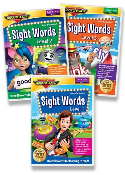 This special web-pack covers all pre-primer Dolch words, all primer Dolch words, all 1st Grade Dolch words, and many words from Fry's list.