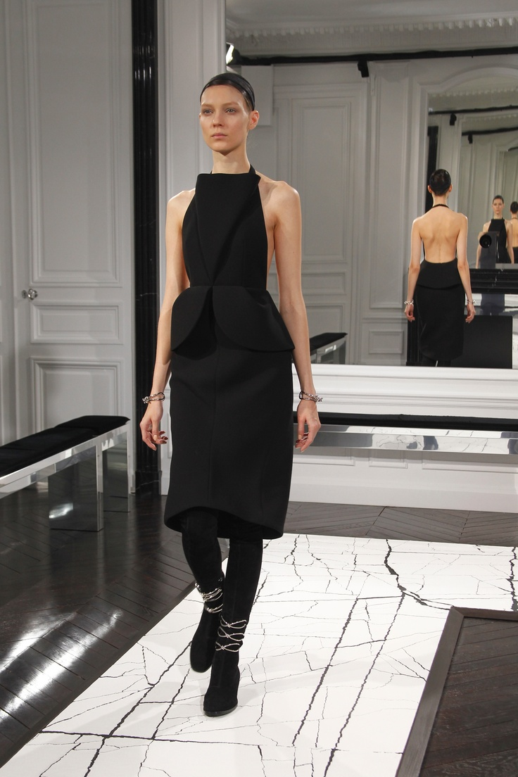 Fall winter 2013 fashion trends for women - Fall Winter 2013 14 Collection Look 08 Visit Www Balenciaga Com