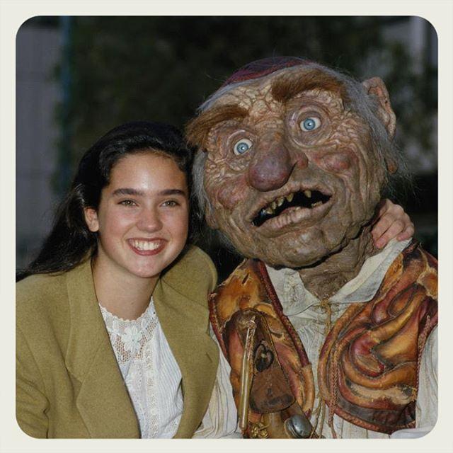Sarah and Hoggle, Labyrinth.