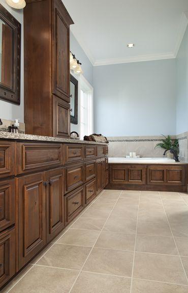Knotty Alder Walnut With Black Glaze Montgomery Door And Montgomery Drawer Front Bath Pinterest
