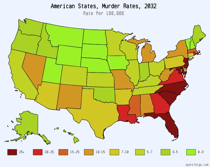 Best Imaginary Maps Images On Pinterest Alternate History - Murder rates in the us map