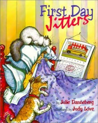 Children's Book 4 - First Day Jitters [Back to School]