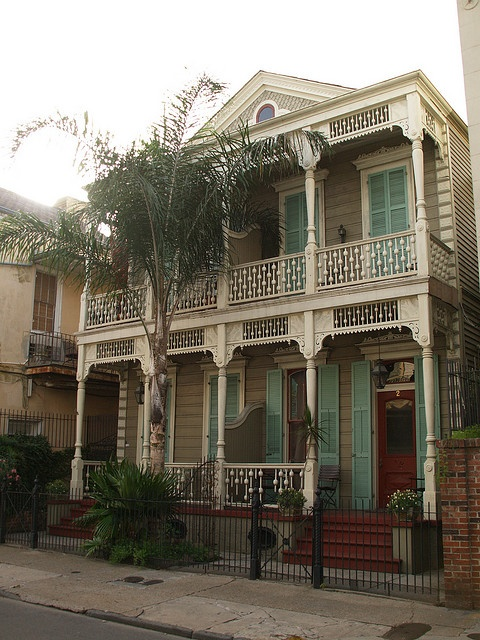 French Quarter, Louisiana. We walked past this house a couple of times while we were there on vacation.