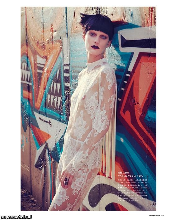 Patricia van der Vliet in 'Ironically Chic' - Photographed by Sofia & Mauro (Numéro Tokyo January/February 2013)    Complete shoot after the click...