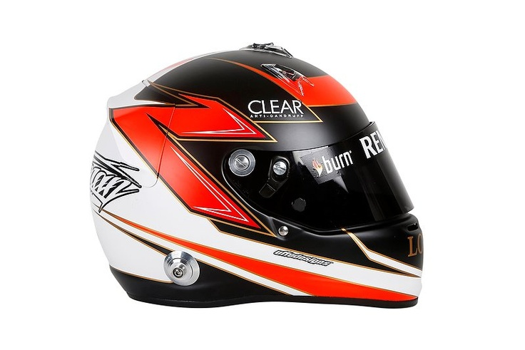 "Lotus F1 Team :: ""It Protects My Head"" - Kimi Räikkönen Reveals 2013 Helmet Design [Feature + Slideshow]"
