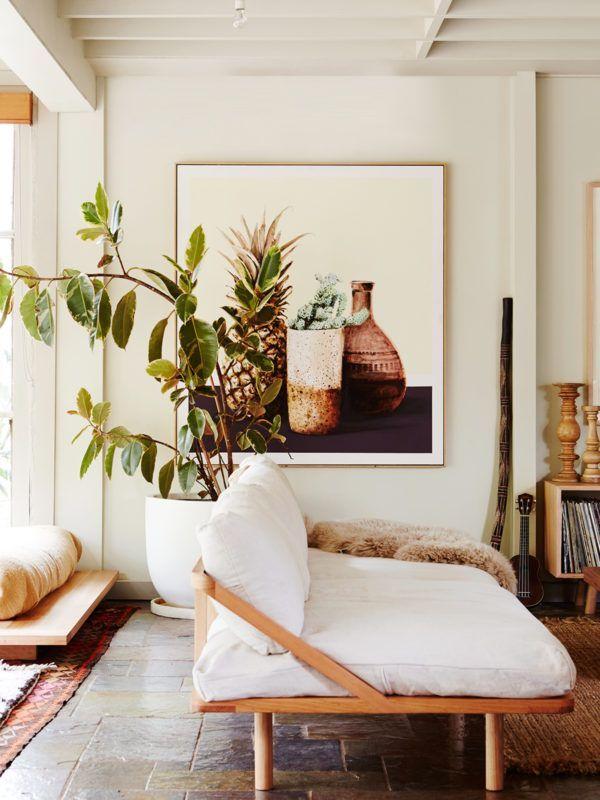 Poppy Lane, Scott Gibson & Family — The Design Files | Australia's most popular design blog. #white #interiors #australia #plant