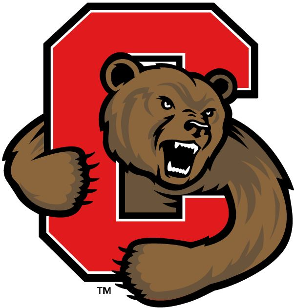 Cornell Big Red Alternate Logo (1998) - A bear clawing out ...