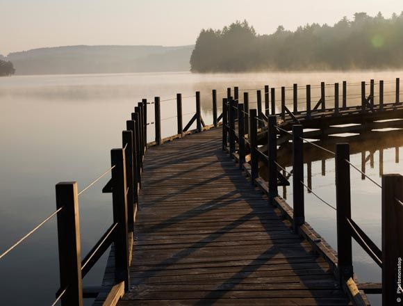 Lac des Settons, parc naturel régional du Morvan, Bourgogne, France