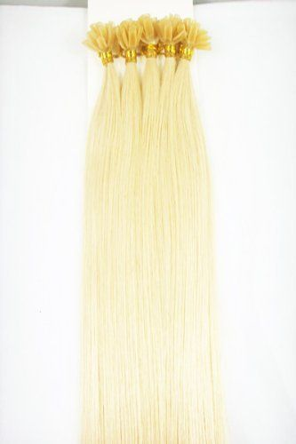 """20"""" Long 100 Nail U Tip Single Strands 100 Grams #24 Blonde Remy Human Hair Extensions by MyLuxury1st. $98.60. SHIPS IN 6-10 BUSINESS DAYS! IF YOU CAN NOT WAIT; DO NOT ORDER; QUESTIONS? CONTACT MYLUXURY1ST HAIR EXTENSIONS"""