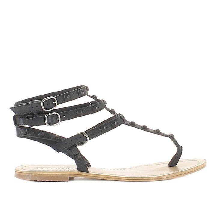 Sandalias negras Persefone