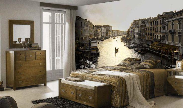 Fototapete VENEDIG - ausgefallene Dekoration für Ihre Wände. Ihr Online-Shop für dekorative Fototapeten.