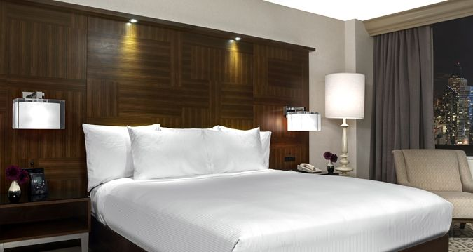 Hilton Times Square Hotel, New York, NY - King Guestroom | NY 10036