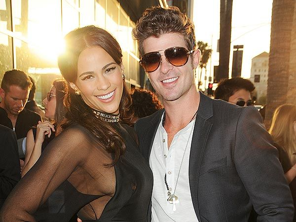 Robin Thicke and Paula Patton Separate