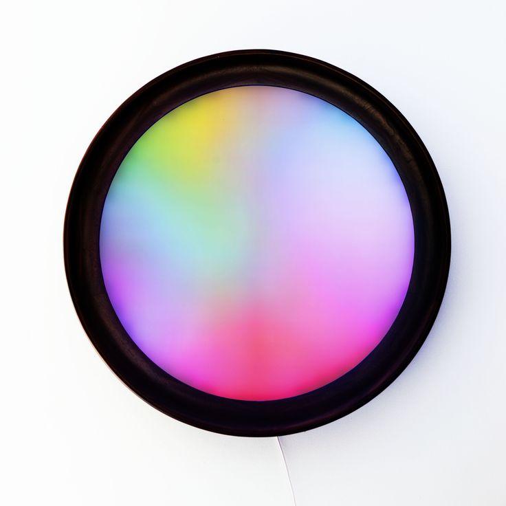 Aquarell lighting, Jakub Petr + Filip Dobias, 2016 -lighting is changing slowly colors in time