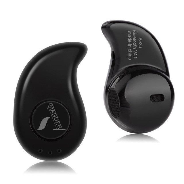 AmericaMander S530 Mini Wireless in-ear Earpiece Bluetooth Earphone Headset Cordless Headphone Earbuds in ear For iPhone Xiaomi
