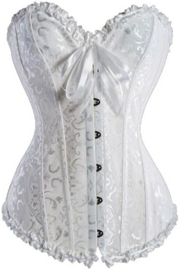 Bridal Off White Corset