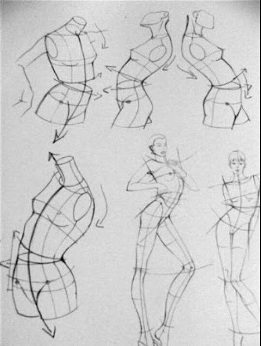 Figurines en movimiento