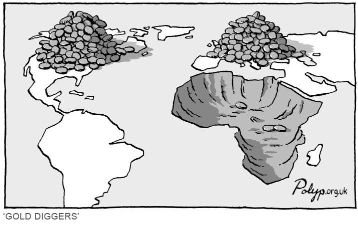 ...: Quote, Gold Diggers, Social Awareness, Africa Relationships, Truths, Politics Cartoon, Photo, Africans Exploit, Social Justice