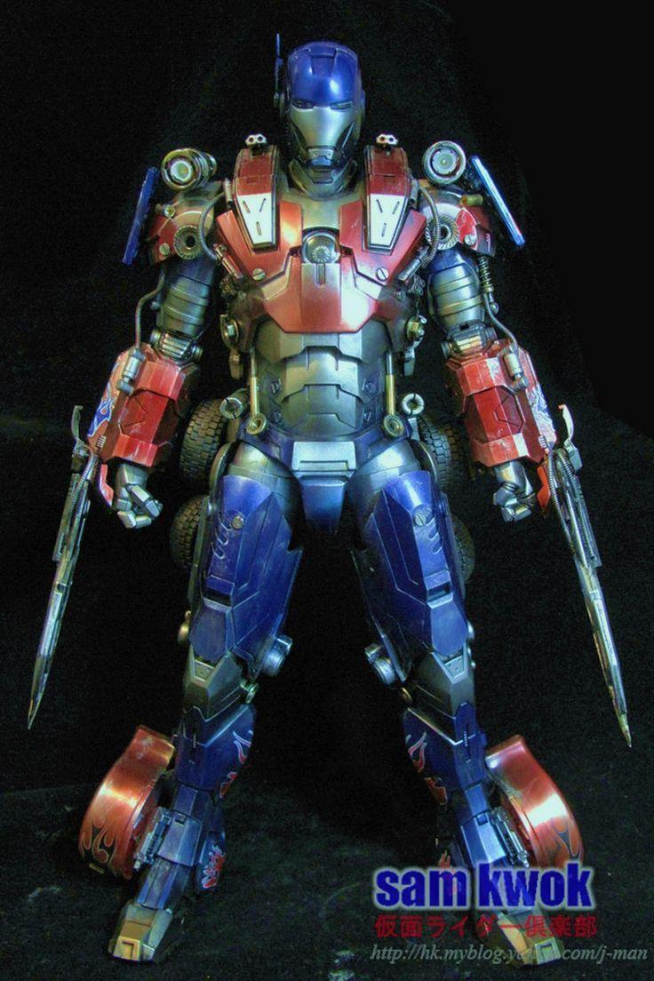 Iron Prime Iron Man Transformers Mashup Iron Man Iron Man Armor Doctor Who Comics