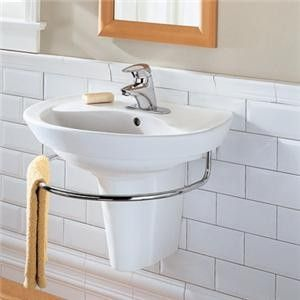 Wall Hung Sink for Small Bathroom is a Smart Choice Uniquely Fit Sinks for Small Bathrooms