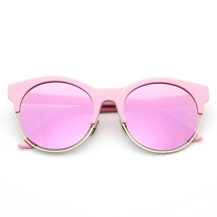 2015 Christian CD Sideral 53MM Round Sunglasses Women Brand Designer lunette de soleil femme gafas de sol mujer brand logo                                                                                                                                                                                 Más