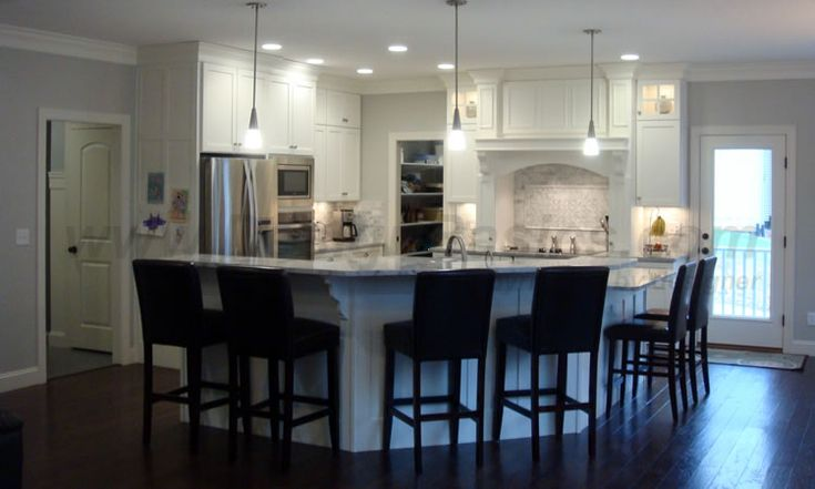 The Kitchen Of Design Basics 39 Home Plan 42041 The Zinnia Features A Kitchen Open To The