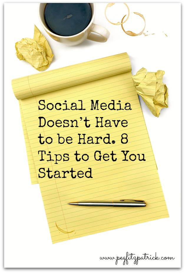 8 tips to get started on social media