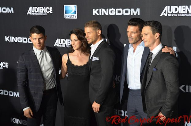 "Nick Jonas, Joanna Going, Matt Lauria, Frank Grillo & Jonathan Tucker at DIRECTV's Kingdom Premiere Event #KingdomDIRECTV #MMA  Red Carpet Interviews from DIRECTV's MMA Drama ""Kingdom"" Premiere on Venice Beach #KingdomTV #KingdomDIRECTV #MMA #Video #Trailer #Photos  http://www.redcarpetreporttv.com/2014/10/02/red-carpet-interviews-from-directvs-mma-drama-kingdom-premiere-on-venice-beach-kingdomtv-kingdomdirectv-mma-video-trailer-photos/"