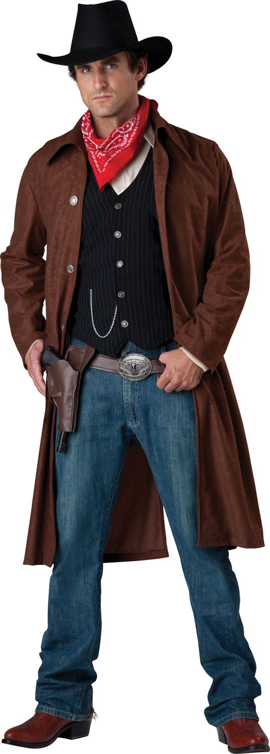 Rough Rider. Cowboy costume for men! Giddy up!