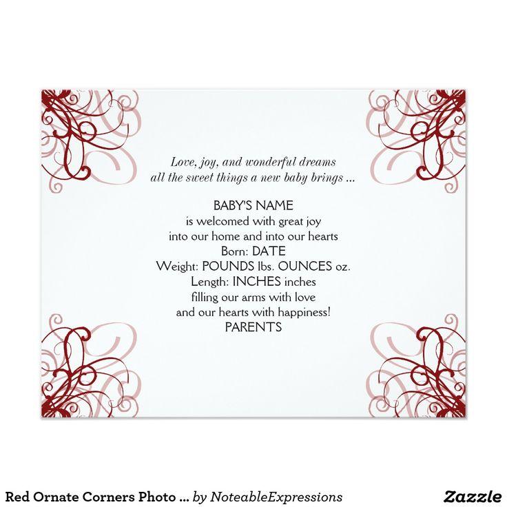 45 Best Unisex Birth Announcement Images On Pinterest