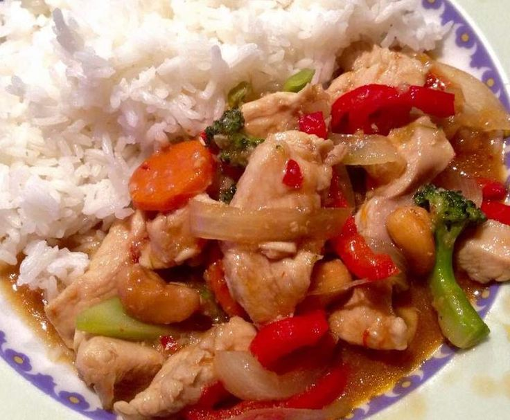 Recipe Thai Chicken with Cashews by Lisa.long@iinet.net.au - Recipe of category Main dishes - meat